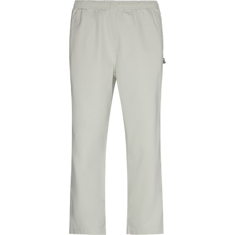 stüssy – Stüssy brushed beach pant off white på quint.dk